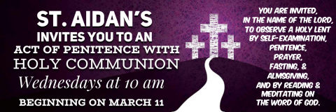 Holy Communion on Wednesdays in Lent