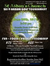 Annual Golf Tournament 2019
