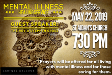 Annual Mental Illness Healing Service 2019
