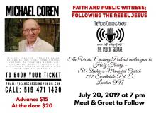 Michael Coren at Holy Trinity St. Stephens Memorial Church